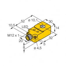 BI10R-Q14-AP6X2-H1141 | 1407100 датчик индуктивный кольцевой