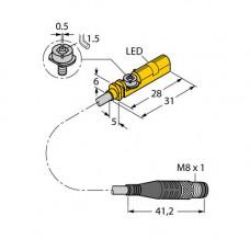 BIM-UNT-AP6X-0.3-PSG3M | 4685723 датчик магнитный