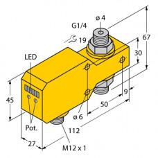 FCI-D04A4P-LIX-H1141 | 6870641 датчик скорости потока