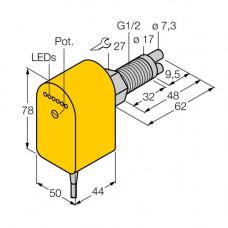 FCS-GL1/2A2P-VRX/24VDC/A | 6870363 датчик потока