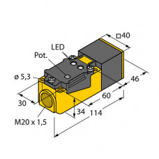 BC20-CP40-VP4X2   25160 емкостной датчик